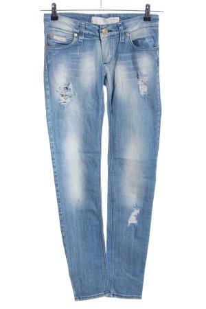 Artigli Dopasowane jeansy niebieski W stylu casual