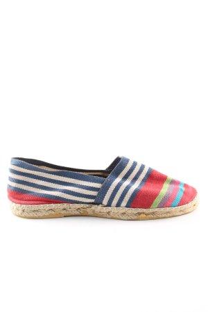 Artisanat Francais Zapatos de marinero estampado a rayas look casual