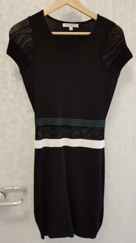 ARTLOVE Paris Robe courte noir tissu mixte