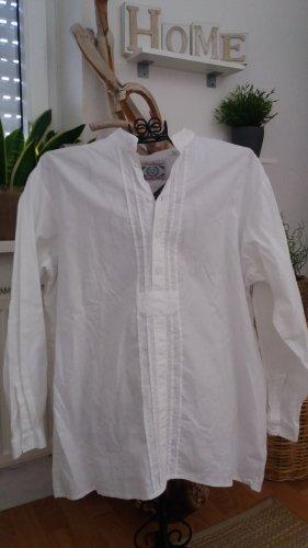 Arzberger Herren/Damen weißes Trachthemd Gr.54/56