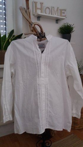 Arzberger Shirt met lange mouwen wit Katoen
