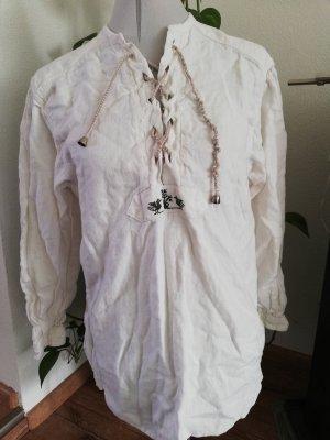 Arzberger Tracht Mode Trachtenbluse Trachtenhemd langarm Gr. 34