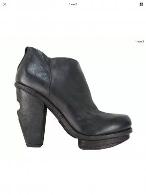 AS98 Low boot noir-gris anthracite