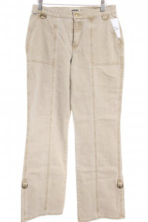 Ascari Boot Cut Jeans hellbraun Casual-Look