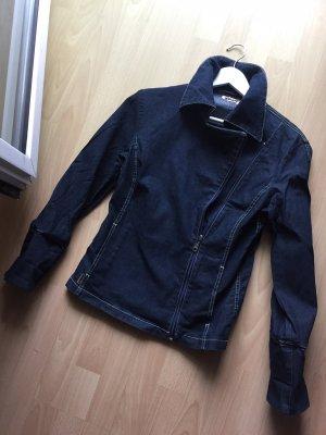 Ascari Veste en jean bleu foncé