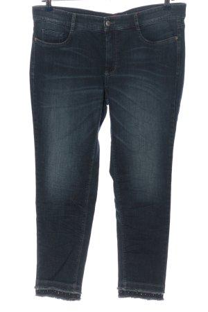 Ascari Jeans a gamba dritta blu stile casual