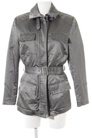 Ascari Manteau mi-saison gris anthracite style décontracté