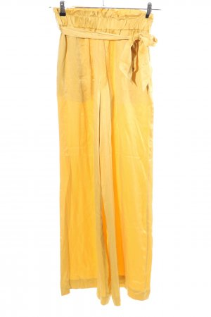 Asceno Peg Top Trousers primrose casual look