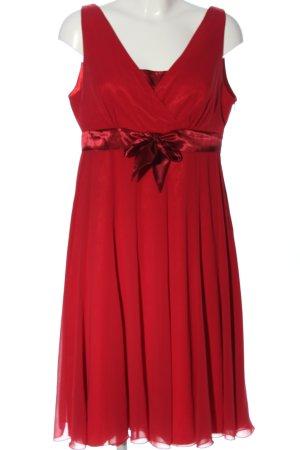 Ascia Robe de soirée rouge style festif