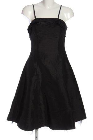 Ascia Sukienka z gorsetem czarny Elegancki