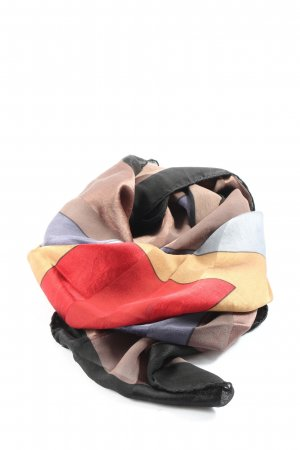 ascot Sciarpa di seta multicolore stile casual