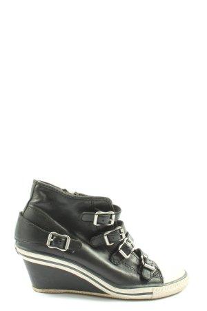 ASH Sneakresy na obcasie czarny W stylu casual