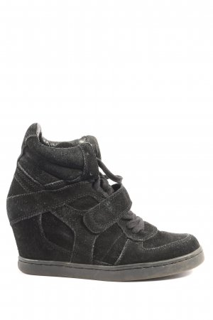 ASH Absatz Sneaker schwarz Casual-Look