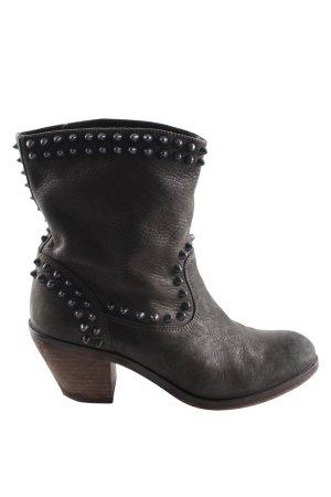 ASH Low boot gris clair style décontracté