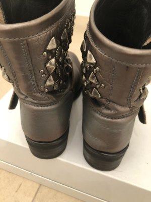 ASH Chelsea Boot gris foncé cuir