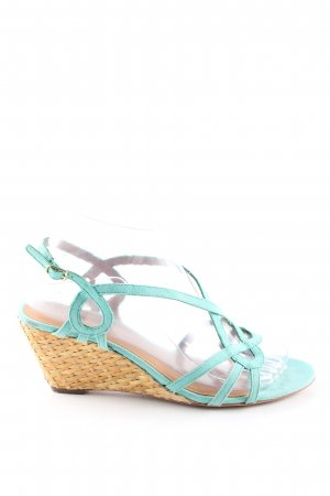 ASH High Heel Sandal turquoise casual look