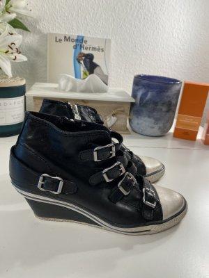 ASH Sneaker con zeppa nero