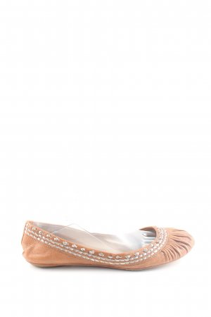 ASH Mary Jane Ballerinas braun Vintage-Look