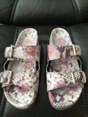 ASH Comfortabele sandalen veelkleurig Leer