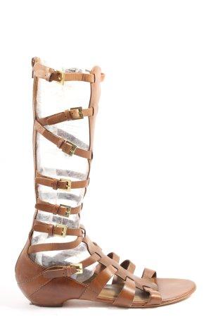 ASH Sandały rzymskie brązowy W stylu casual