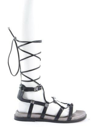ASH Sandalo romano nero stile casual