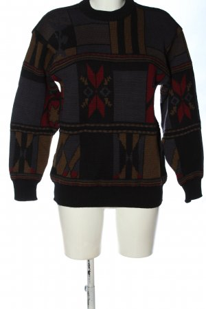 ASH Kraagloze sweater abstract patroon casual uitstraling