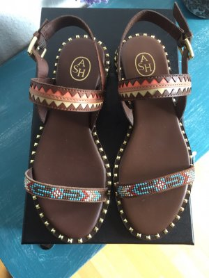 ASH Strapped Sandals brown