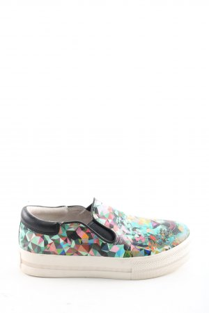 ASH Slip-on Sneakers abstract pattern casual look