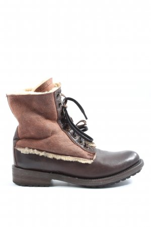 ASH Lace-up Booties brown casual look