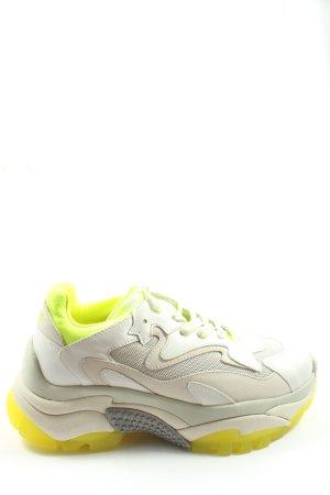 ASH Sneakers met veters wit-wolwit casual uitstraling