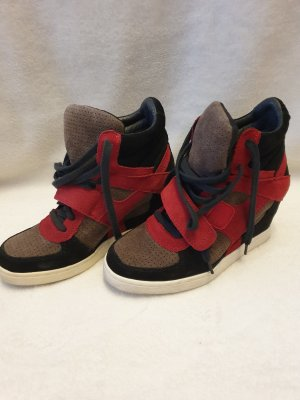 ASH Chaussures à lacets multicolore cuir