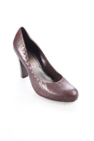 ASH Chaussures bordeau-brun style Boho