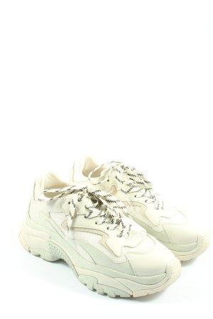 ASH Chaussure skate blanc cassé imprimé avec thème style décontracté