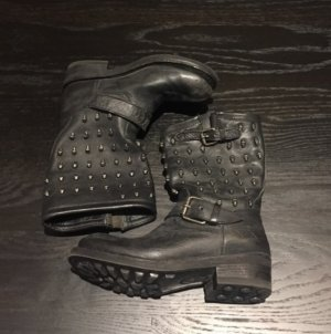 Ash skull Biker boots 36