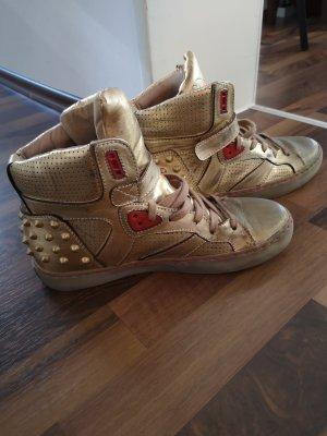 ASH Chaussure skate doré