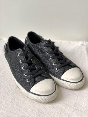 ASH Lace-Up Sneaker black-white
