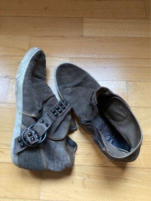 Ash- Sneaker, grau, 40; mid-high