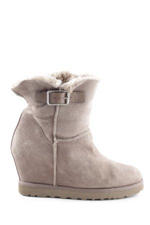 ASH Snowboots hellgrau Casual-Look