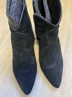 ASH Krótkie buty czarny