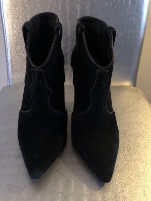 ASH Low boot noir cuir