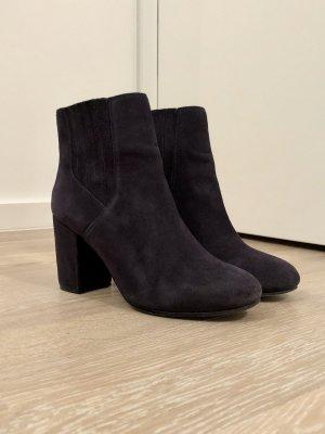 ASH Slip-on Booties dark blue