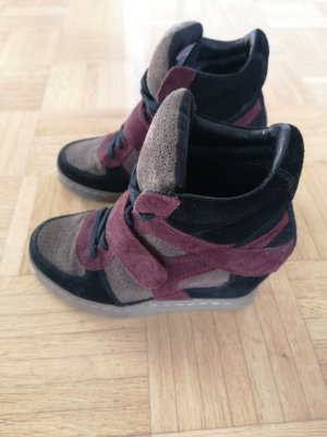 ASH  Wedge-Sneakers, Gr. 36 , Nubukleder