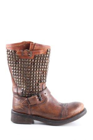 ASH Buty w stylu western brązowy Na całej powierzchni W stylu casual