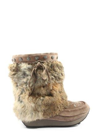 ASH Buty zimowe brązowy W stylu casual