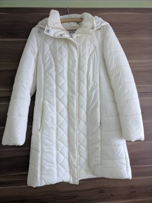 Ashley Brooke Quilted Coat white