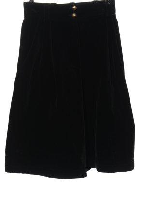 Ashley Brooke Pantalon 3/4 noir style d'affaires