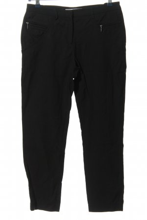 Ashley Brooke 7/8 Length Trousers black casual look
