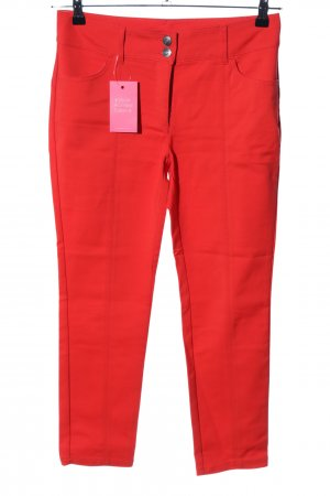 Ashley Brooke 7/8 Length Trousers red casual look
