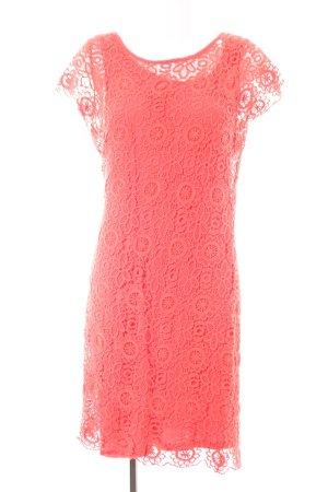Ashley Brooke Robe trapèze rouge motif de fleur style décontracté