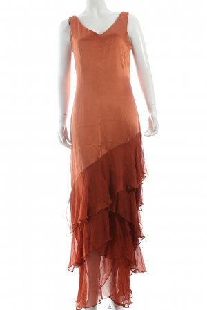 Ashley Brooke Abendkleid cognac-rostrot